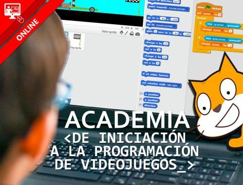 Academia de iniciación a la programación de videojuegos