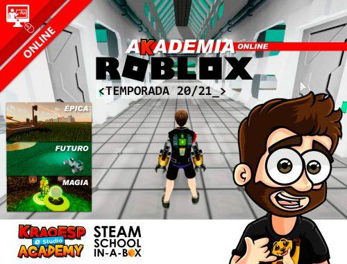 Informacion De Roblox Coding Scripting Con Roblox Studio De 10 A 13 Anos Tienda Online De Cursos De Robotica Y Programacion Steam School In A Box
