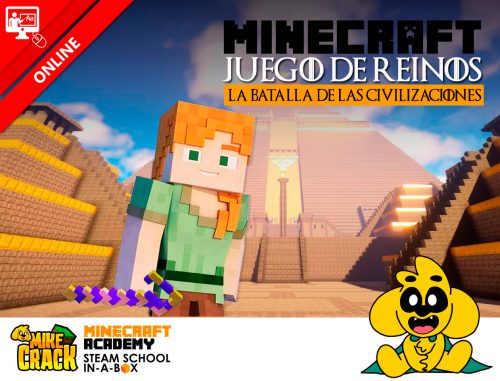 mikecrack minecraft academy juego de reinos