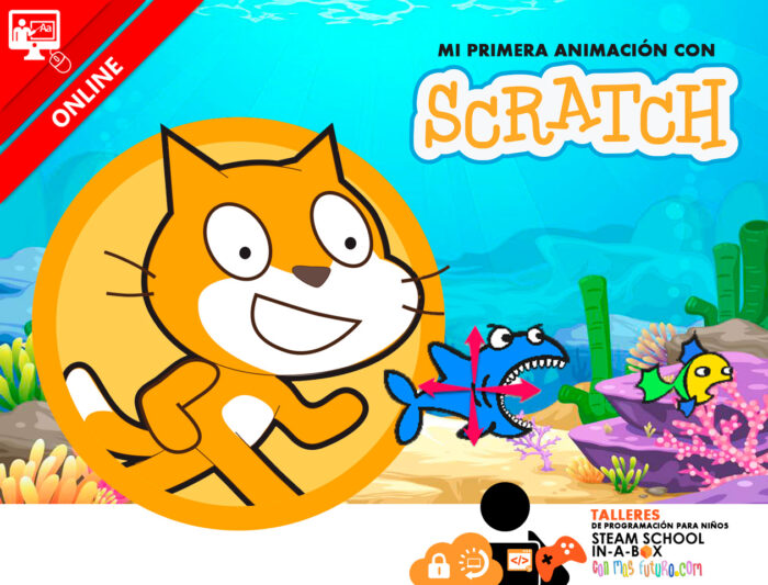 Mi primera animación con Scratch. Taller gratuito online