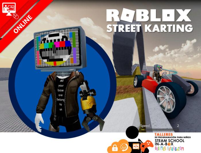 Roblox Street Karting. Taller gratuito online