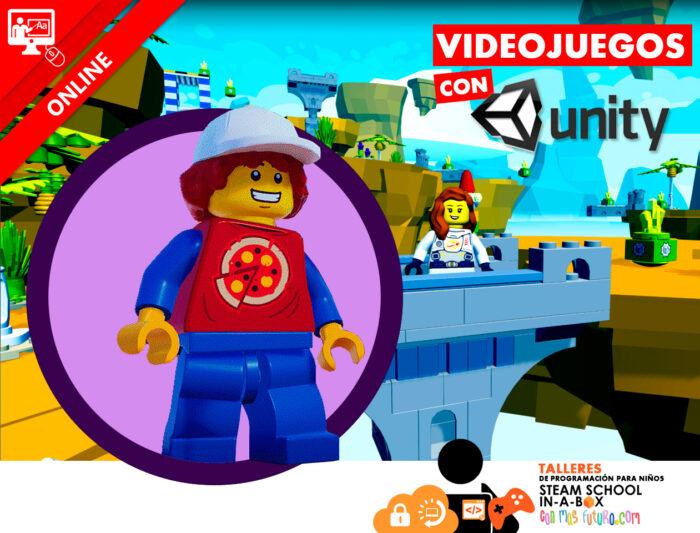 Videojuegos con UNITY 3D. Taller online gratuito