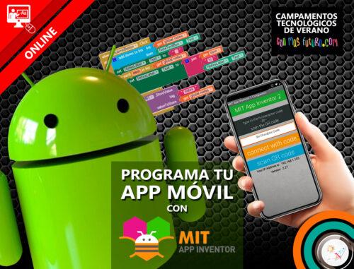 Campamento programa tu app móvil con App Inventor