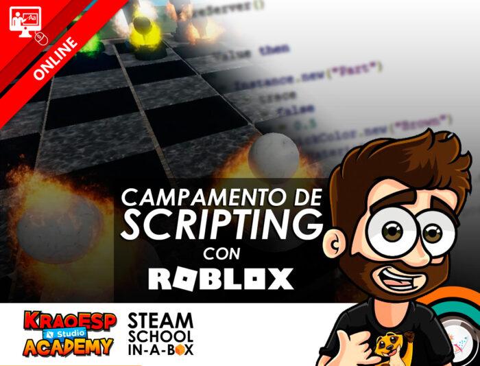 Campamento de Scripting con Roblox Studio