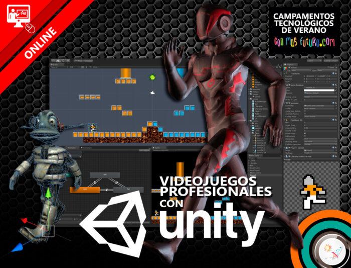 Campamento de programación de videojuegos profesionales con Unity