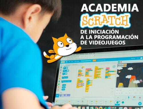 Academia Scratch de iniciación a la programación de videojuegos