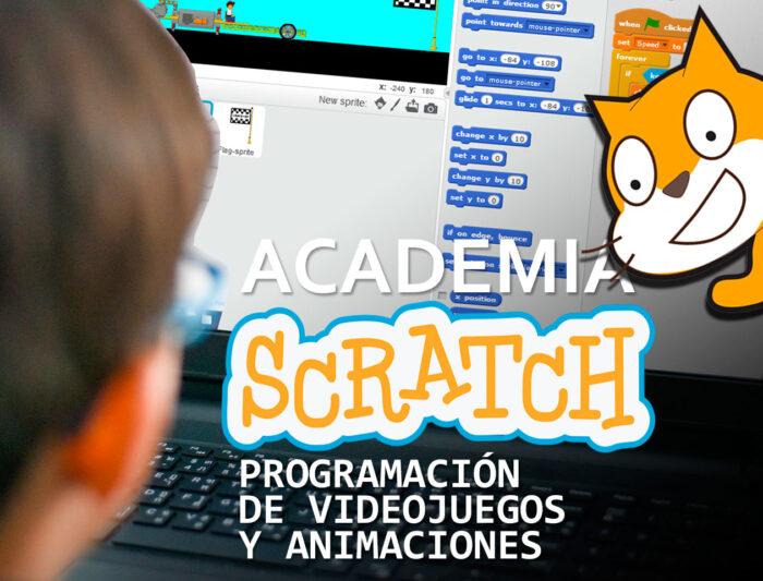 Academia SCRATCH: Programación de Videojuegos y Animaciones